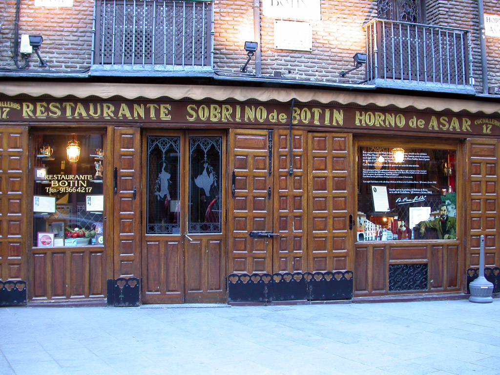 Restaurante casa botin for Casa botin madrid