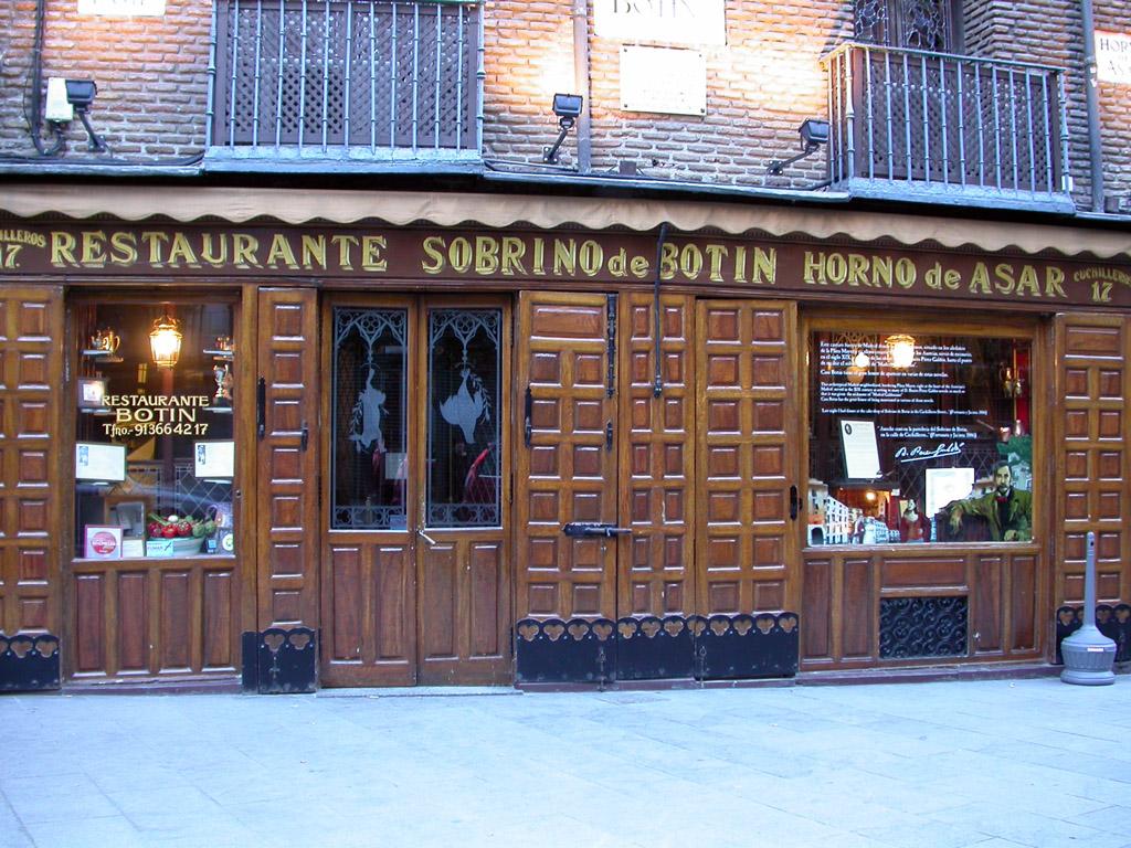 Restaurante casa botin for Casa botin madrid